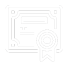 Law Certificate Icon