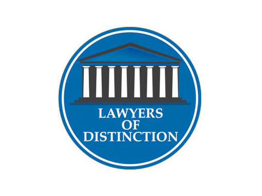 Lawyers of Distinction Priest Law Firm Recipient