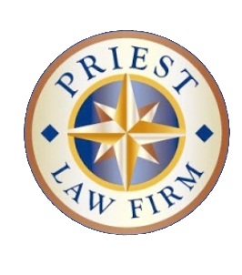 Priest Law Frim Round Logo